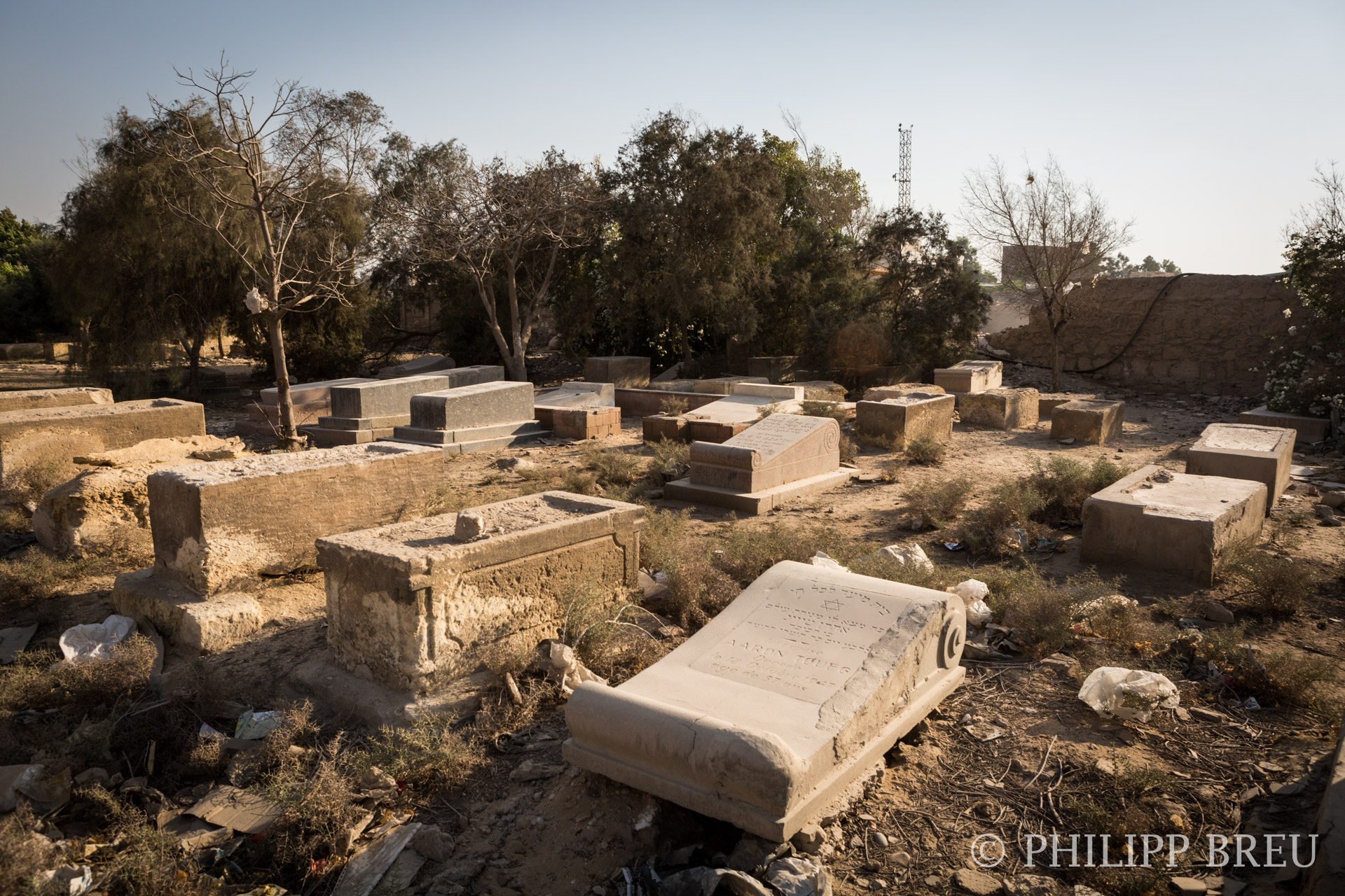 The Jewish Cemetery Of Cairo Egypt Philipp Breu